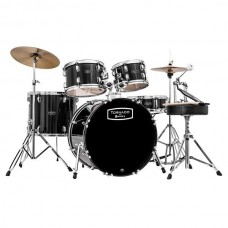Mapex TND5044TCDK Tornado Drum set With Cymbals Fusion Black