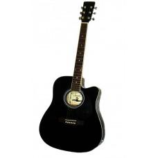 Maxtone WGC 4103CE BK - Akustična ozvučena gitara