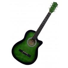 """Firefeel S015C Akustična Western Gitara 38"""" Cutaway"""