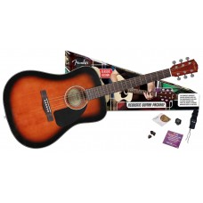 Fender CD-60 Sunburst Paket