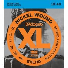 D'Addario EXL110 10-46 Zce za Električnu Gitaru