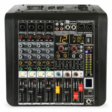 Power Dynamics PDM-M404A 4-Channel Music Mixer with Amplifier