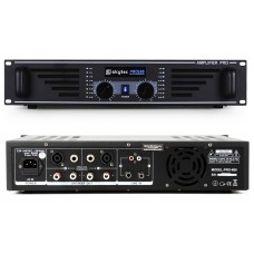 SkyTec SKY-600 Black PA amplifier 2x 300W Max.