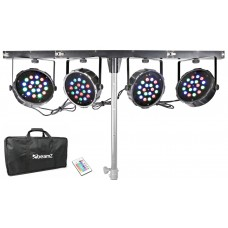 Compact Light Set Beanz LED Parbar 4