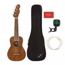 Fender Seaside Soprano Ukulele Pack WN NAT